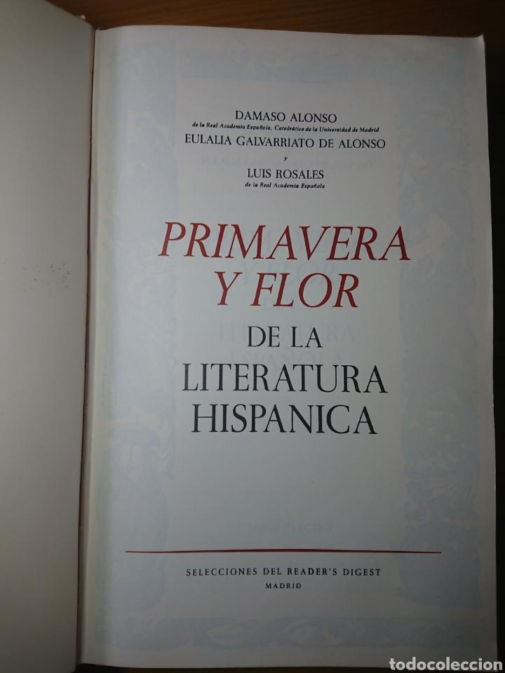 Libros antiguos: Primavera y Flor de la Literatura Española, Tomo III, 1882 - Foto 3 - 179396925