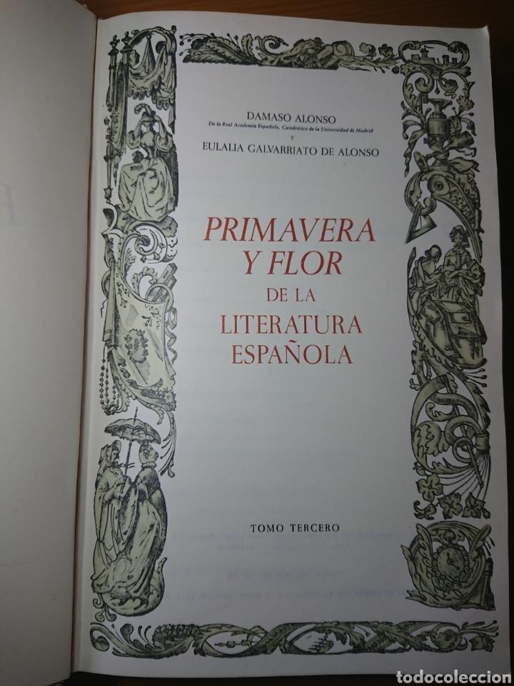 Libros antiguos: Primavera y Flor de la Literatura Española, Tomo III, 1882 - Foto 4 - 179396925