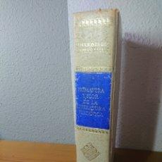 Libros antiguos: PRIMAVERA Y FLOR DE LA LITERATURA ESPAÑOLA, TOMO III, 1882. Lote 179396925