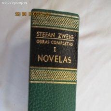 Libros antiguos: STEFAN ZWEIG - OBRAS COMPLETAS I - NOVELAS - EDITORIAL JUVENTUD BARCELONA 1976.. Lote 179403513