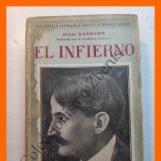 Libros antiguos: EL INFIERNO - HENRI BARBUSSE. Lote 179541776