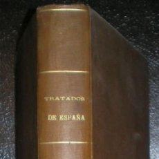Libros antiguos: DOCUMENTOS INTERNACIONALES DEL REINADO DE DOÑA ISABEL II DESDE 1842 A 1868. TRATADOS DE ESPAÑA.. Lote 39391113