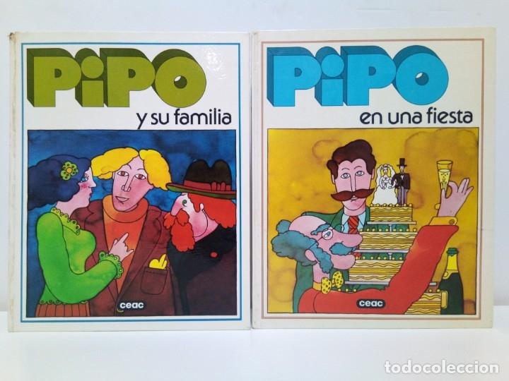LIBROS EDUCATIVOS PIPO EN UNA FIESTA Y PIPO Y SU FAMILIA CEAC 1979 (Libros Antiguos, Raros y Curiosos - Literatura Infantil y Juvenil - Otros)