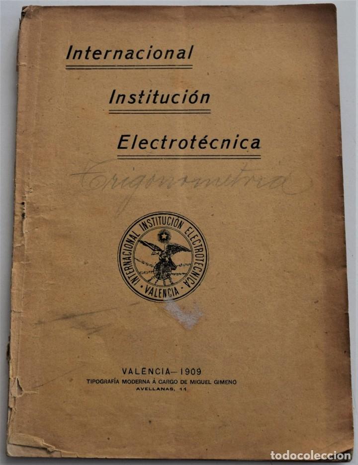 Libros antiguos: LOTE 2 LIBRITOS MATEMÁTICAS + LOGARITMOS, DERIVADAS Y NOCIONES DE CÁLCULO INFINITESIMAL AÑOS 1909-12 - Foto 2 - 180016632