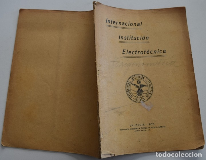 Libros antiguos: LOTE 2 LIBRITOS MATEMÁTICAS + LOGARITMOS, DERIVADAS Y NOCIONES DE CÁLCULO INFINITESIMAL AÑOS 1909-12 - Foto 3 - 180016632