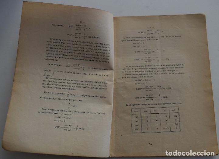 Libros antiguos: LOTE 2 LIBRITOS MATEMÁTICAS + LOGARITMOS, DERIVADAS Y NOCIONES DE CÁLCULO INFINITESIMAL AÑOS 1909-12 - Foto 6 - 180016632