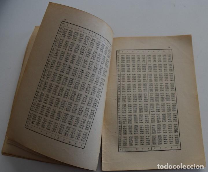 Libros antiguos: LOTE 2 LIBRITOS MATEMÁTICAS + LOGARITMOS, DERIVADAS Y NOCIONES DE CÁLCULO INFINITESIMAL AÑOS 1909-12 - Foto 13 - 180016632