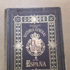 Libros antiguos: HISTORIA GENERAL DE ESPAÑA,MODESTO LAFUENTE,TOMO I. Lote 180021098