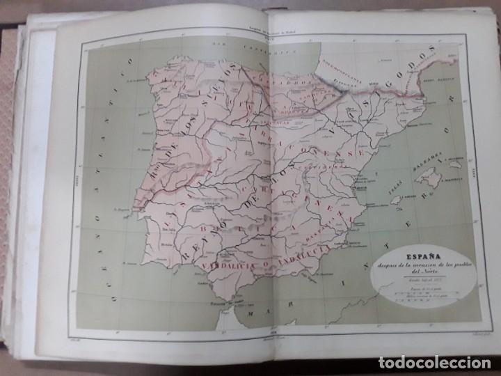 Libros antiguos: Historia general de España,modesto lafuente,tomo I - Foto 6 - 180021098