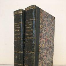 Libros antiguos: DUPONCHEL, A.A: HISTORIAS DE GRECIA E ITALIA DESDE LOS TIEMPOS MÁS REMOTOS HASTA 1844. 2 VOLS.. Lote 180022057