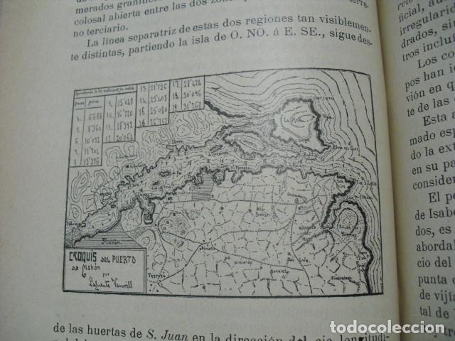 Libros antiguos: 1907 GEOGRAFIA E HISTORIA DE MENORCA LORENZO LAFUENTE VANRELL - Foto 3 - 179954837