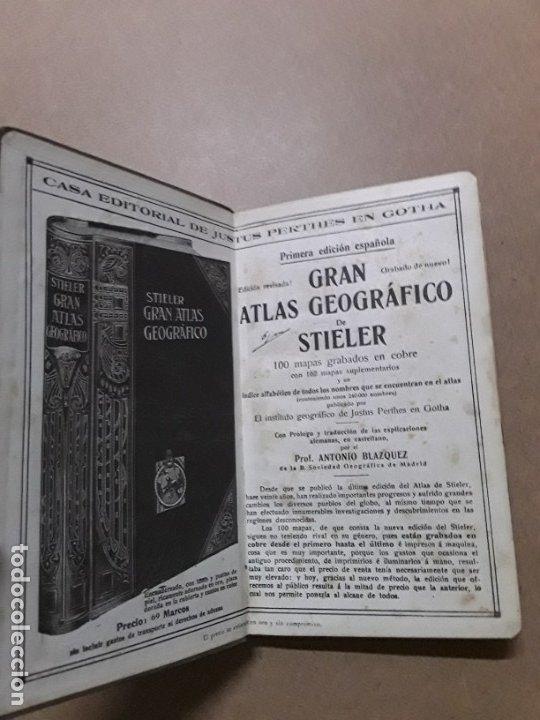 Libros antiguos: Atlas portatil,justus perthes,1920 - Foto 3 - 180027860