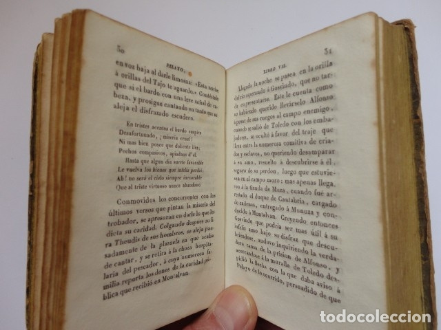 Libros antiguos: Pedro de Armengaud - Pelayo, conquistador de la monarquia española (TomoII)- Imprenta de Oliva 1837 - Foto 3 - 180085906