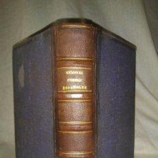 Libros antiguos: CRIMENES CELEBRES ESPAÑOLES - AÑO 1859 - BELLOS GRABADOS.. Lote 180087908
