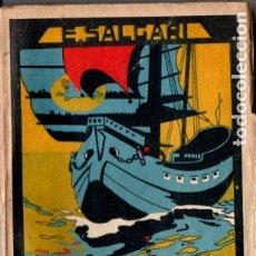 Libros antiguos: EMILIO SALGARI : LOS CAZADORES DE CABEZAS (CALLEJA). Lote 180088140