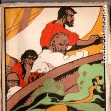 Libros antiguos: EMILIO SALGARI : UN DRAMA EN EL OCÉANO PACÍFICO TOMO I (CALLEJA). Lote 180088222