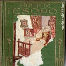 Libros antiguos: ARALUCE : FÁBULAS DE ESOPO (1914) ILUSTRACIONES DE SALÓ. Lote 180089030