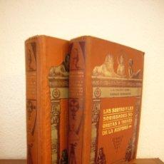 Libros antiguos: LAS SECTAS Y LAS SOCIEDADES SECRETAS A TRAVÉS DE LA HISTORIA. 2 VOLS. S. VALENTÍ CAMP & E. MASSAGUER. Lote 180098020