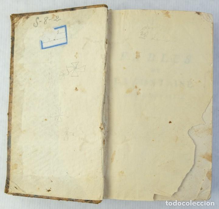 Libros antiguos: Fables Choisies, M.De la Fontaine-Libraire Chez J.F.Bastien 1779 - Foto 5 - 180131537