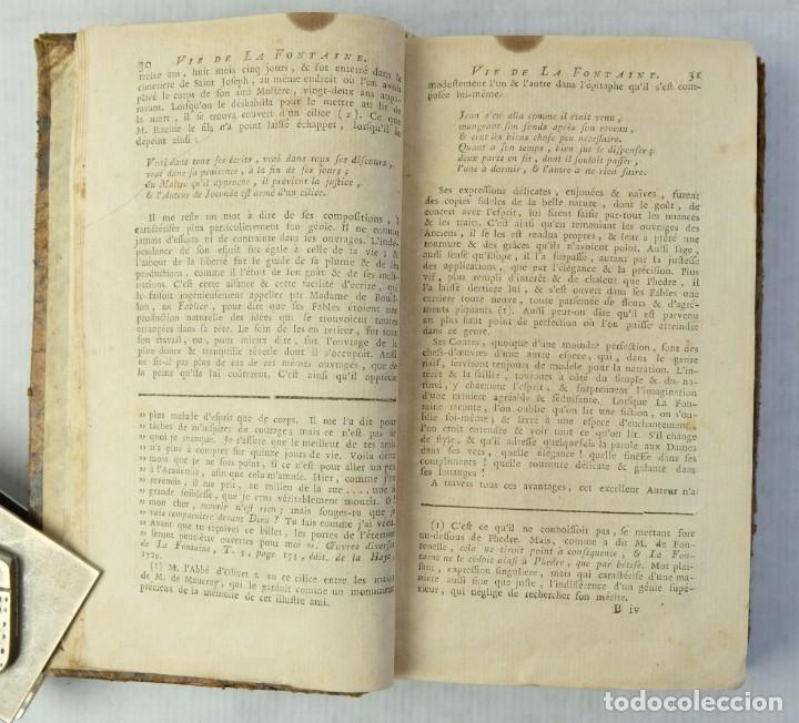 Libros antiguos: Fables Choisies, M.De la Fontaine-Libraire Chez J.F.Bastien 1779 - Foto 6 - 180131537