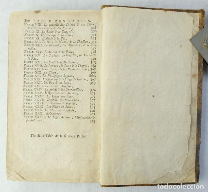 Libros antiguos: Fables Choisies, M.De la Fontaine-Libraire Chez J.F.Bastien 1779 - Foto 7 - 180131537