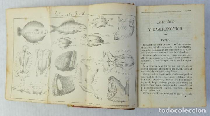 Libros antiguos: El libro de las familias, novisimo manual práctico-décima edición-Librería de D.Leocadio López, 1863 - Foto 5 - 180132352