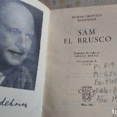Libros antiguos: SAM EL BRUSCO. Lote 180164748