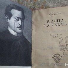 Libros antiguos: JUANITA LA LARGA. Lote 180165221