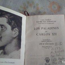 Libros antiguos: LOS PALADINES DE CARLOS XII. Lote 180165356