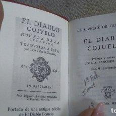 Libros antiguos: EL DIABLO COJUELO. Lote 180165492