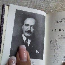 Libros antiguos: LA BARRACA. Lote 180165778