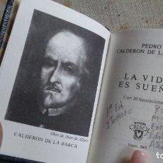 Libros antiguos: LA VIDA ES SUEÑO. Lote 180165897