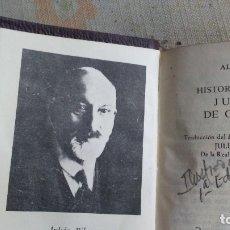 Libros antiguos: HISTORIA DE LOS JUECES DE CORDOBA. Lote 180166032