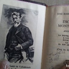 Libros antiguos: ESCENAS MONTAÑESAS. Lote 180166166