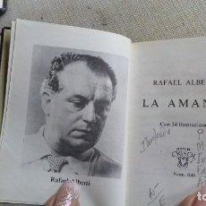 Libros antiguos: LA AMANTE. Lote 180166236