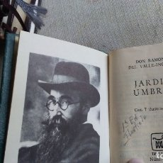 Libros antiguos: JARDIN UMBRIO. Lote 180166316