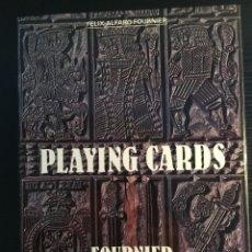 Libros antiguos: LIBRO-CATÁLOGO DE NAIPES DEL MUSEO FOURNIER (EN INGLÉS). Lote 180406973
