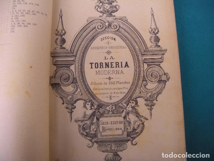 LA TORNERÍA MODERNA. CARPINTERÍA. (Libros Antiguos, Raros y Curiosos - Ciencias, Manuales y Oficios - Otros)