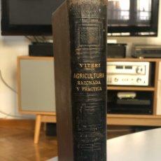 Libros antiguos: AGRICULTURA RAZONADA Y PRÁCTICA. Lote 180437060