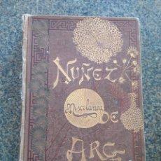 Libros antiguos: MISCELANEA LITERARIA - CUENTOS, ARTICULOS, RELACIONES Y VERSOS -- 1886 - GASPAR NUÑEZ DE ARCE --. Lote 180448413