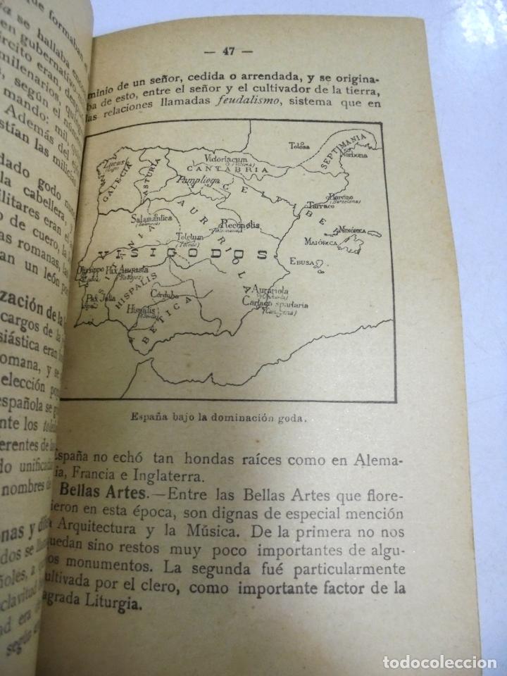 Libros antiguos: HISTORIA DE ESPAÑA. G.M.BRUÑO. 2º CURSO. 4º EDICION. 1925. ILUSTRADO - Foto 2 - 180458177