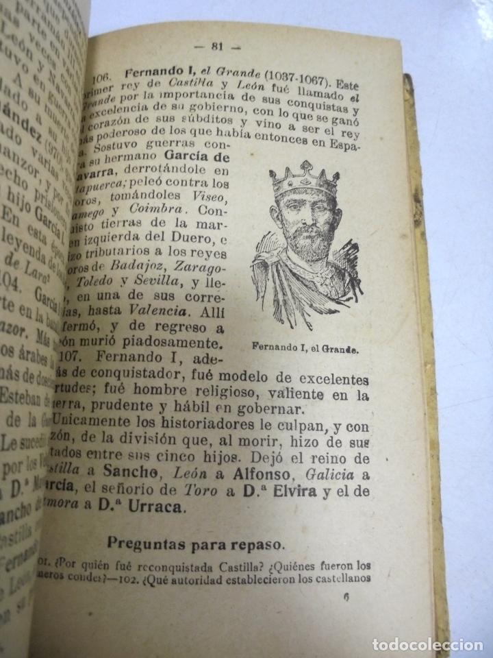 Libros antiguos: HISTORIA DE ESPAÑA. G.M.BRUÑO. 2º CURSO. 4º EDICION. 1925. ILUSTRADO - Foto 4 - 180458177