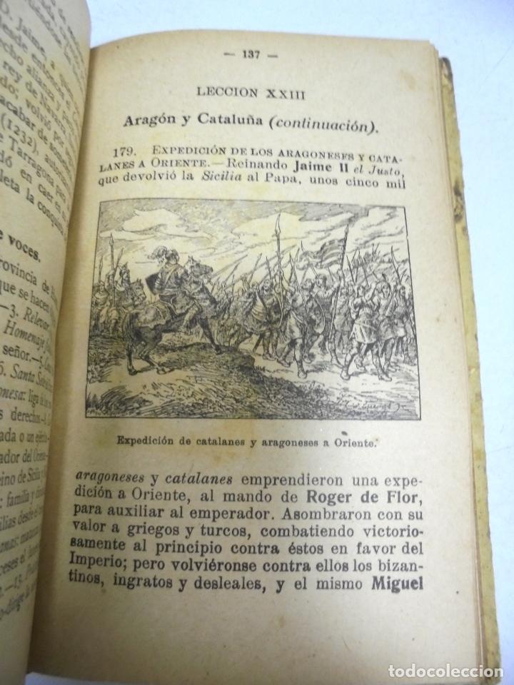 Libros antiguos: HISTORIA DE ESPAÑA. G.M.BRUÑO. 2º CURSO. 4º EDICION. 1925. ILUSTRADO - Foto 7 - 180458177