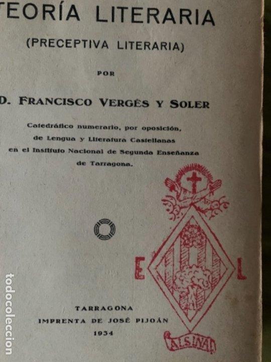 PRECEPTIVA LITERARIA. PRÁCTICAS LITERARIAS (Libros Antiguos, Raros y Curiosos - Ciencias, Manuales y Oficios - Otros)