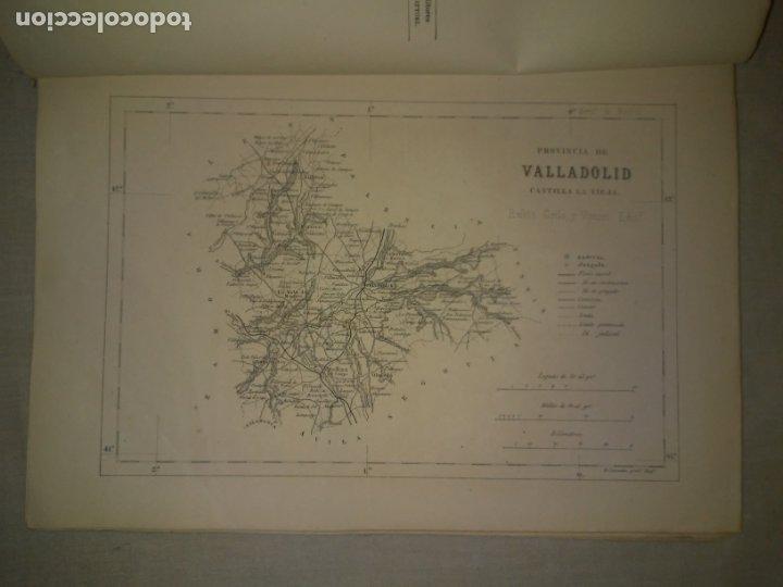 Libros antiguos: CRONICA DE LA PROVINCIA DE VALLADOLID - AÑO 1869 - D.F.FULGOSIO - GRABADOS. - Foto 2 - 180489961