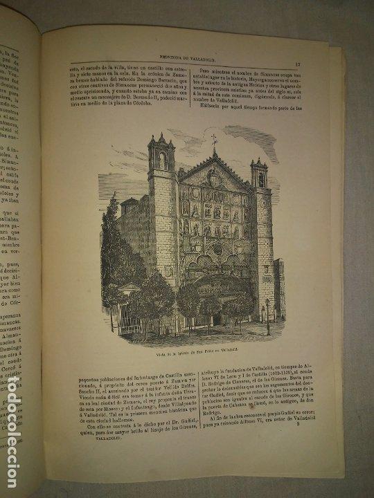 Libros antiguos: CRONICA DE LA PROVINCIA DE VALLADOLID - AÑO 1869 - D.F.FULGOSIO - GRABADOS. - Foto 4 - 180489961