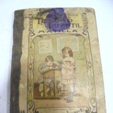 Libros antiguos: TESORO INFANTIL. JUAN ANTONIO MATILLA Y MATILLA. 1º EDICION. MADRID. 1986. Lote 180602260