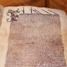 Libros antiguos: TESTAMENTO ISABEL LA CATOLICA EN PERGAMINO FACSIMIL DE 1509 (RARO). Lote 180731757