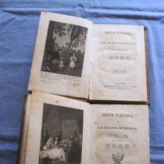 Libros antiguos: IRENE Y CLARA O LA MADRE IMPERIOSA EN DOS TOMOS - VICENTE SALVÁ Y PÉREZ - 1831. Lote 180863887
