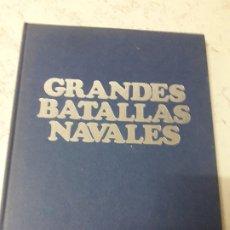 Livres anciens: GRANDES BATALLAS NAVALES. Lote 180874106